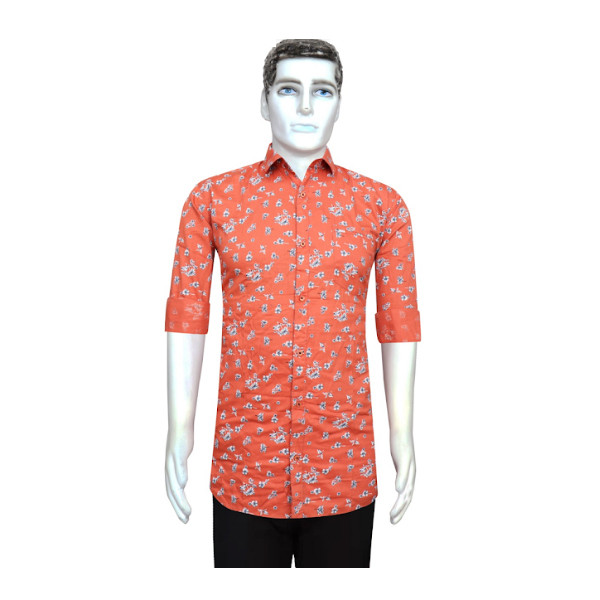 Duff (1610) Men 100% Cotton Casual Printed Shirts ( Multicolor)